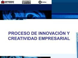 proceso de innovacion y creatividad empresarial