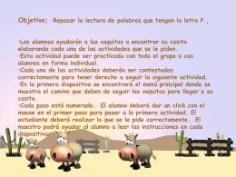 Concurso de lectura (español)