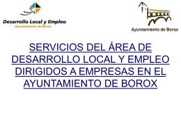 BOLSA DE EMPLEO - Ayuntamiento de Borox