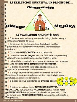 PATOLOGÍA DE LA EVALUACIÓN EDUCATIVA
