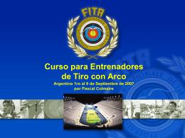 ARCHERY WORLD CUP - Federación Argentina de Tiro con Arco