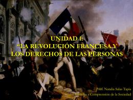 """unidad 1: """"la revolución francesa y los derechos de las personas"""