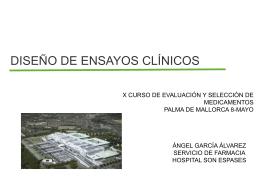 diseño de ensayos clinicos