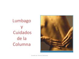 Lumbago y Cuidados de la Columna