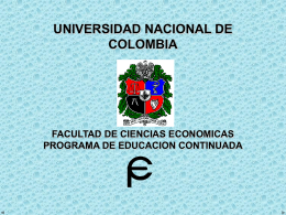 reingenieria - UN Virtual - Universidad Nacional de Colombia