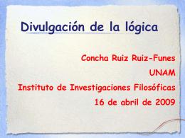 Matemáticas para Volar - Instituto de Investigaciones Filosóficas