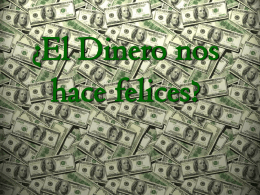 DINERO FELICIDAD Ruben C.
