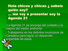 Agenda 21 para niños