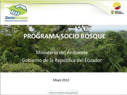 programa socio bosque