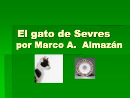 El gato de Sevres por Marco A. Almazán