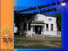 Slide 1 - Las Milpas iglesia de Cristo