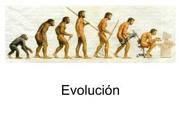 Tema 3. Evolución