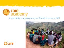 Vistazo a CARE Academy