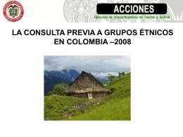 Ministerio del Interior y de Justicia República de Colombia