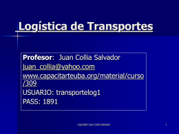 Logística de Transportes
