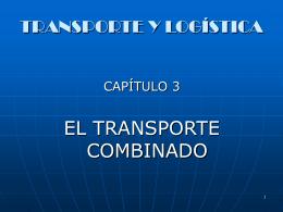 TRANSPORTE COMBINADO
