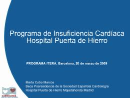Programa de Insuficiencia Cardíaca Hospital Puerta de Hierro