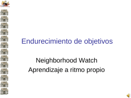 Target Hardening SP - National Neighborhood Watch