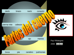 Power point-partes del cuerpo