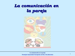 2. La comunicacion en la pareja