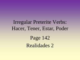 HACER (present) - miprofesorafavorita