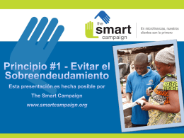 Evitar el Sobreendeudamiento - Center for Financial Inclusion blog
