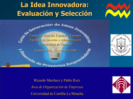 Cómo evaluar las ideas innovadora?