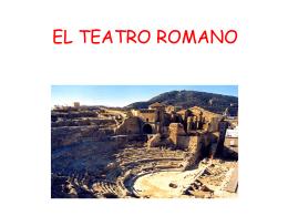 EL TEATRO ROMANO 1