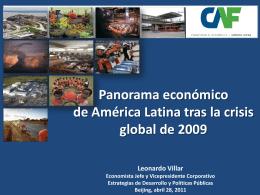 Perspectivas globales y su impacto en América Latina