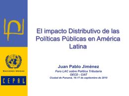 américa latina y el caribe: gasto público social