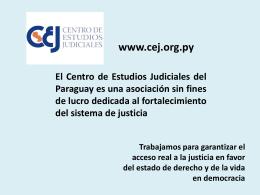 acceso a la justicia de las personas en condición de vulnerabilidad