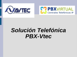 PowerPoint - PBX Virtual
