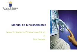 cuadro de mandos - Gobierno de Canarias