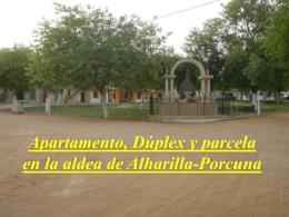 Apartamento y Duplex en la aldea de Alharilla