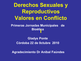 Gladys Ponte - Universidad Nacional de Córdoba