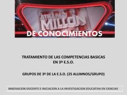 ATRAPA UN MILLON DE CONOCIMIENTOS