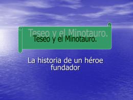 Teseo y el minotauro - IES Fuente de la Peña
