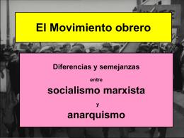Debate entre un socialista y un anarquista
