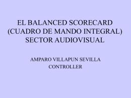 EL BALANCED SCORECARD (CUADRO DE MANDO INTEGRAL