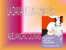 la dama de las camelias literatura