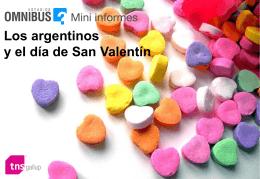 Argentinos, enamorados y en pareja…