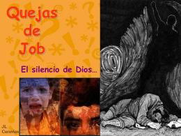 09-04 Job.Sus quejas contra Dios