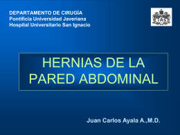 PARED ABDOMINAL HERNIAS