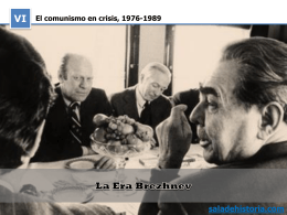 Brezhnev: política exterior