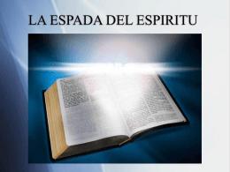LA ESPADA DEL ESPIRITU - iglesia evangelica rehobot
