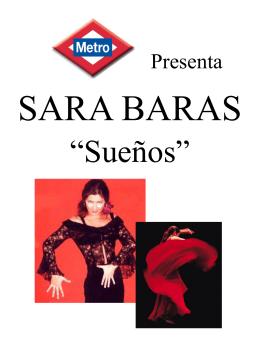 PRESENTACIÓN SARA BARAS B