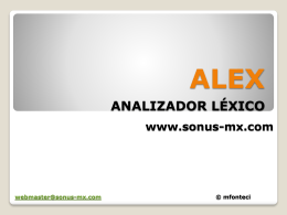 Alex - Sonus