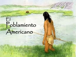 Teorías de poblamiento americano