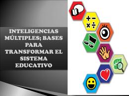 INTELIGENCIAS MÚLTIPLES - Red De Profesores De Inglés
