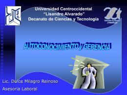 "Robert Cooper - Universidad Centroccidental ""Lisandro Alvarado"""